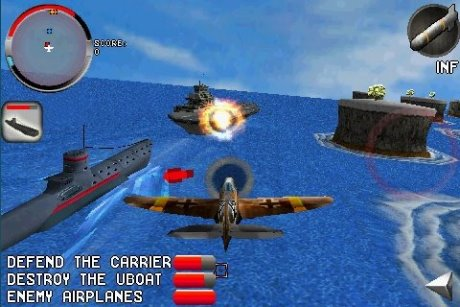 بازی شبیه سازی پرواز برای سیمبیان Polarbit Armageddon Squadron v1.00