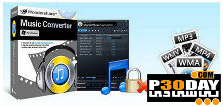 نرم افزار تبدیل فرمت آهنگ ها Wondershare Music Converter v1.3.4.0