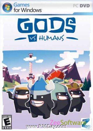 دانلود بازی زیبا و کم حجم Gods VS Humans 1.0
