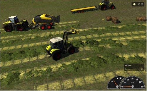 دانلود بازی شبیه ساز مزرعه داری Agricultural Simulator 2011 Gold Edition