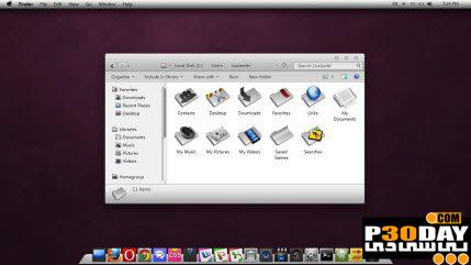 دانلود تم بسیار زیبا و شیک Silver VN VS برای ویندوز 7