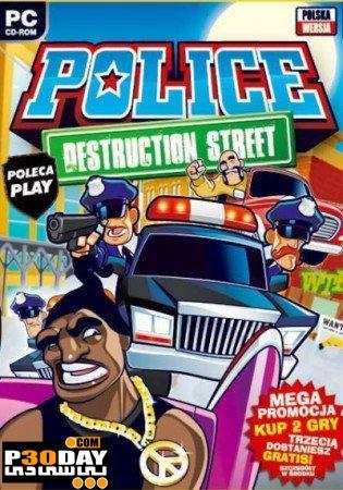 بازی زیبای پلیس خیابانی Portable Police Destruction Street 2011