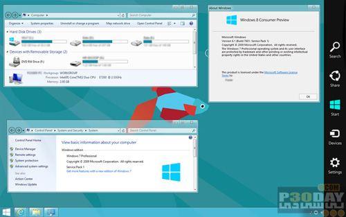 نرم افزار تبدیل ظاهر ویندوز به ویندوز هشت Windows 8 Transformation Pack 4.0