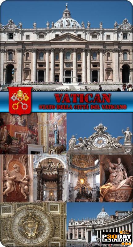 دانلود مجموعه تصاویر از معماری واتیکان Architecture Vatican