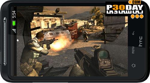 دانلود بازی اکشن اول شخص آندروید Modern Combat 3: Fallen Nation
