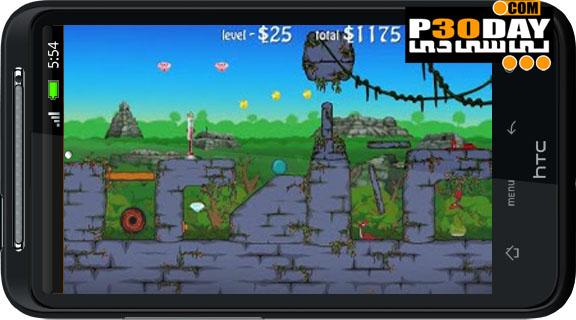 دانلود بازی جالب و بسیار زیبای Lazy Snakes v1.4.2 آندروید