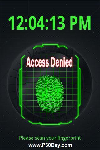 نرم افزار باز کردن قفل موبایل آندروید با اثر انگشت