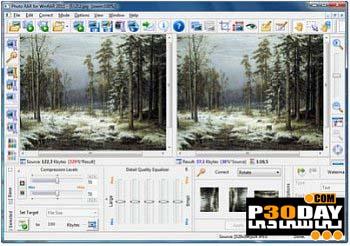 دانلود نرم افزار کاهش حجم تصاویر Photo RAR for WinRAR v2011