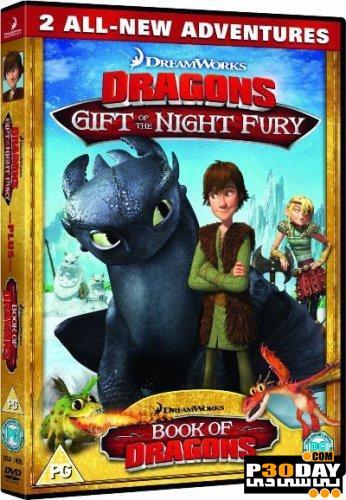 دانلود انیمیشن کوتاه Dragons: Gift of the Night Fury 2011