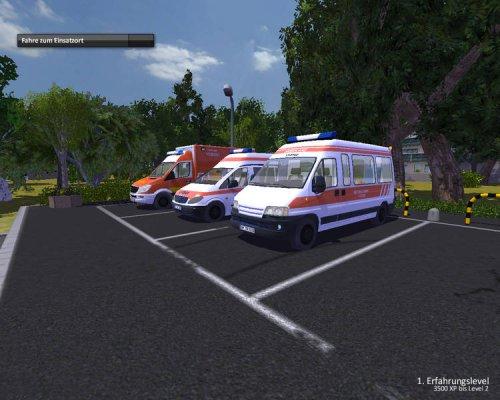دانلود بازی شبیه راننده آمبولانس Rettungswagen-Simulator 2012