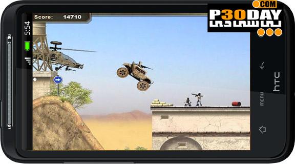 دانلود بازی هیجانی و بسیار زیبای War Machine Hummer v1.0 آندروید