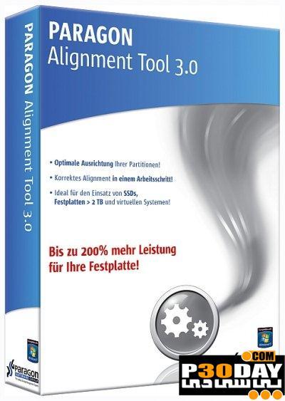 افزایش سرعت و عمر هارد با نرم افزار Paragon Alignment Tool v3.0