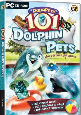 دانلود بازی زیبای دلفین ها Dolphin Pets 2010