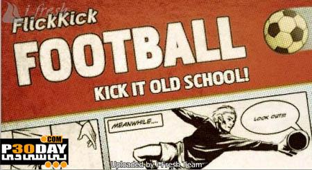 دانلود بازی بسیار زیبا و جذاب Flick Kick Football 1.6.1 آیفون