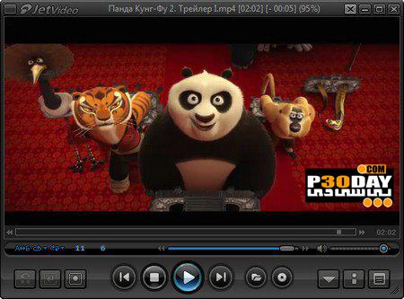 نرم افزار پخش کننده قدرتمند فایل های ویدیویی jetVideo 8.0.1.100 VX