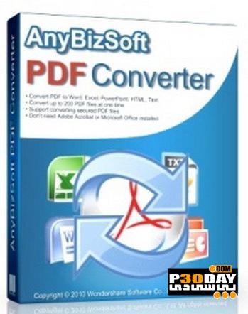 نرم افزار تبدیل فایل های PDF با AnyBizSoft PDF Converter 2.5.0.11