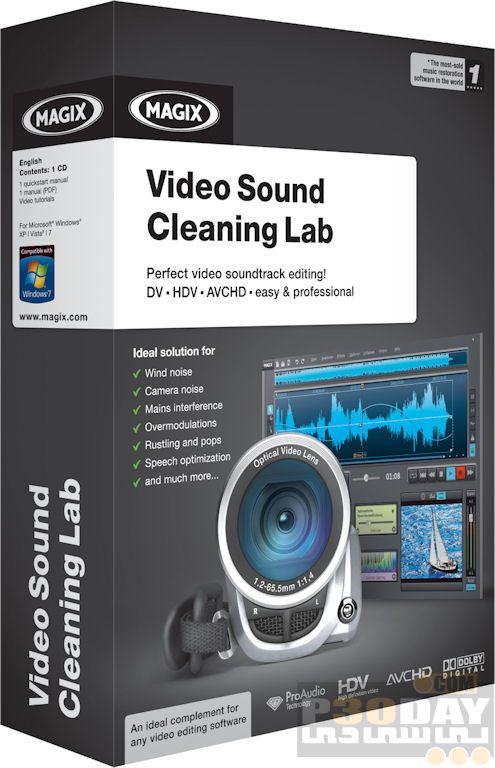 نرم افزار ویرایش صدای فیلم MAGIX Video Sound Cleaning Lab v22.2.0.53