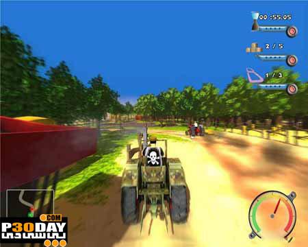 دانلود بازی Farm Racer 2011