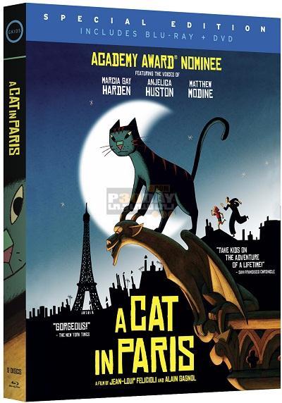 دانلود دوبله فارسی انیمیشن A Cat in Paris 2010