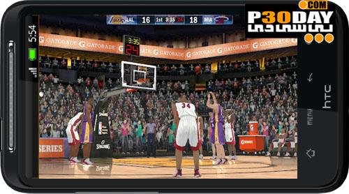 بازی بسکتبال موبایل NBA 2K13 آندروید و آیفون