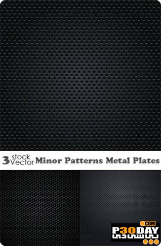 مجموعه پترن های بسیار زیبا و شیک Minor Patterns Metal Plates