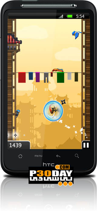 دانلود بازی هیجان انگیز و بسیار زیبای NinJump Deluxe v1.0 آندروید