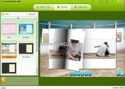 نرم افزار بسیار جالب ساخت کتاب تصویری Ncesoft Flip Book Maker 2.3.1