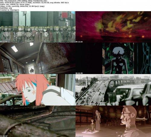 دانلود انیمیشن زیبای The Animatrix 2003