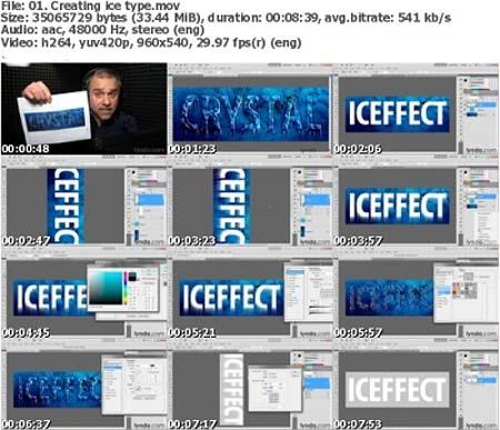 دانلود سری کامل ویدیوهای آموزشی تکنیک های طراحی در فتوشاپ CS5