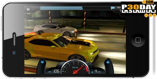 دانلود بازی فوق العاده زیبا و جذاب CSR Racing 1.0.6 آیفون