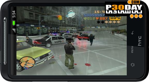 دانلود بازی GTA 3 برای گوشی های موبایل آندروید و آیفون
