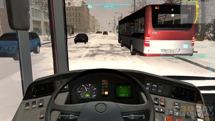 دانلود بازی Bus Simulator 2012 با لینک مستقیم + کرک