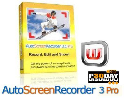 نرم افزار فیلم برداری از دسکتاپ AutoScreenRecorder Pro 3.1.369