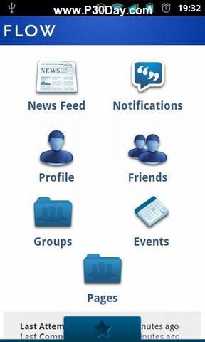 فیسبوک برای آندروید Flow for Facebook v3.2.2 Android