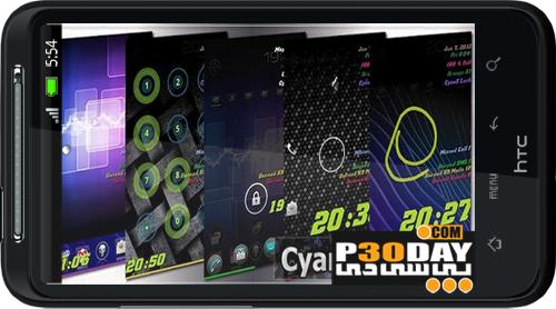 برنامه باز کردن قفل صفحه نمایش CyanX Lock v1.0 مخصوص آندروید