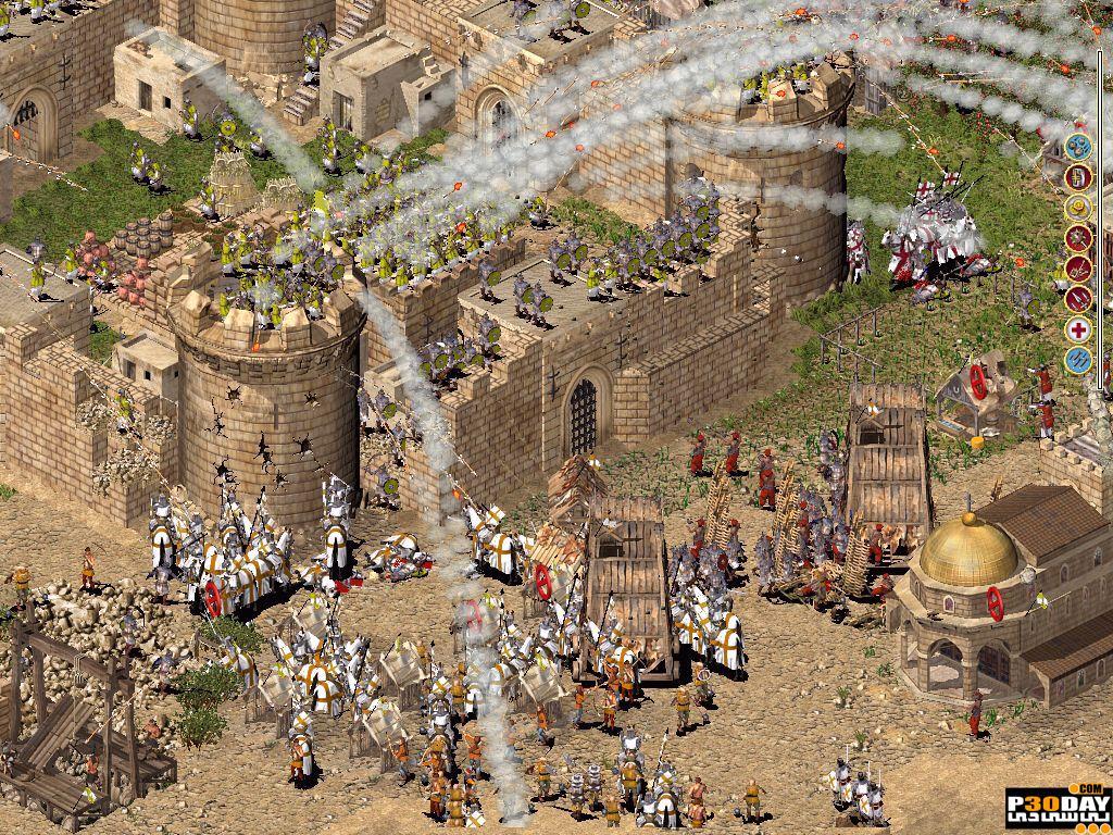 دانلود بازی Stronghold Crusader HD 2012 با لینک مستقیم + کرک
