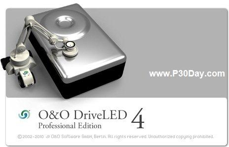 مانیتور فعالیت های هارد دیسک با نرم افزار O&O DriveLED Pro 4.2
