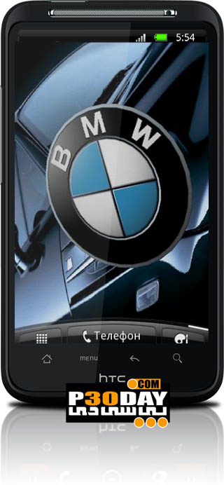 دانلود پس زمینه زنده BMW 3D Logo Live Wallpaper v1.1 آندروید