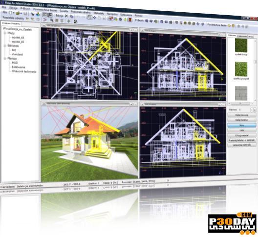 برنامه طراحی سه بعدی ساختمان Flow Architect Studio 3D 1.6.3