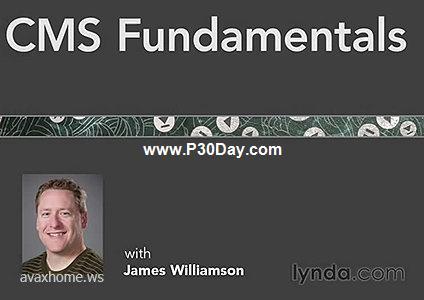 فیلم آموزشی اساس و ساختار سیستم مدیریت محتوی Lynda.com: CMS Fundamentals