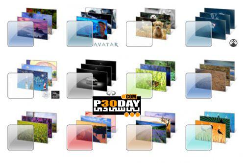 دانلود مجموعه 12 تم فوق العاده زیبا و شیک برای ویندوز 7
