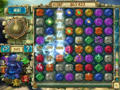 بازی حل پازل و رسیدن به گنجینه Treasures of Montezuma 3 FINAL