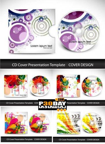 محصولات توتن دانلود کاروهای آماده سی دی بصورت وکتور Presentation CD ...