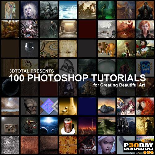 دانلود ویدیو 100 آموزش برترفتوشاپ 100 Great Photoshop Video Tutorials
