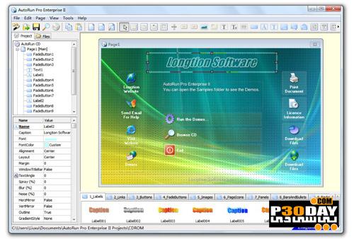 نرم افزار ایجاد Autorun با Longtion AutoRun Pro Enterprise II v6.0.0.116