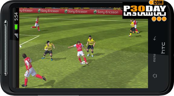 دانلود بازی فیفا 12 آندروید FIFA 12 v1.2.5