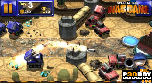 دانلود بازی کم حجم Great Little War Game 2011