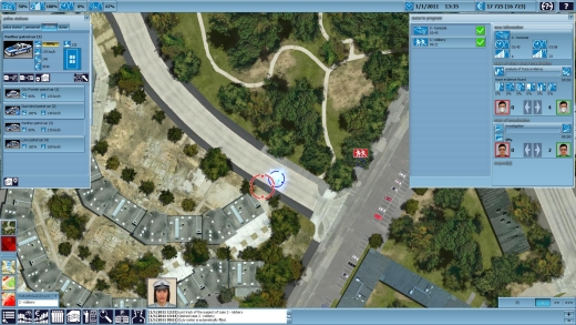 دانلود بازی شبیه سازی پلیس Police Simulator Jaguar 2010