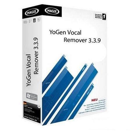 خذف صدای خواننده ها با نرم افزار YoGen Vocal Remover 3.3.9