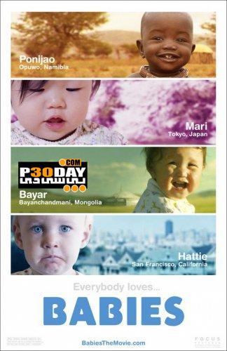 دانلود مستند بررسی زندگی 4 نوزاد مختلف Babies 2010 + زیرنویس فارسی